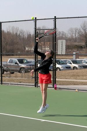 Girls Varsity Tennis - 2007-2008 - 3/26/2008 Cedar Springs