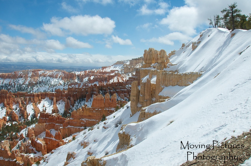 Bryce Canyon National Park- view from Rainbow Point