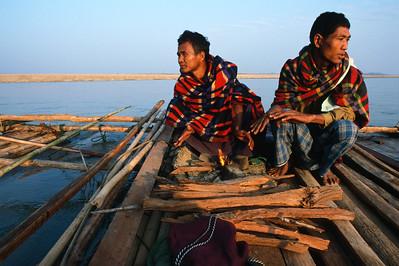 RIVIÈRE CHINDWIN - Birmanie