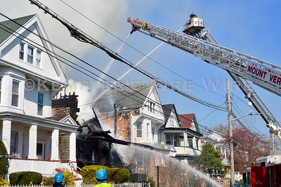 2nd Alarm Fire, 356 South 10th Ave - Mt Vernon, NY 4/12/2020