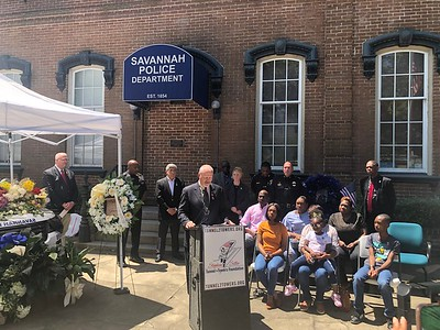 Savannah Police Department SGT. Kelvin Ansari Press Conference