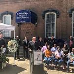 Savannah Police Department SGT. Kelvin Ansari Press Conference