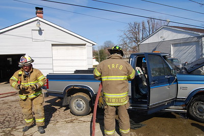 02-17-09 Three Rivers FD Truck Fire