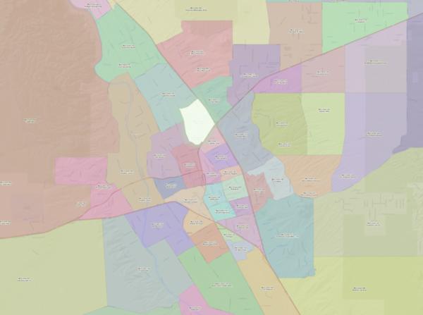ZRE MLS Area Maps