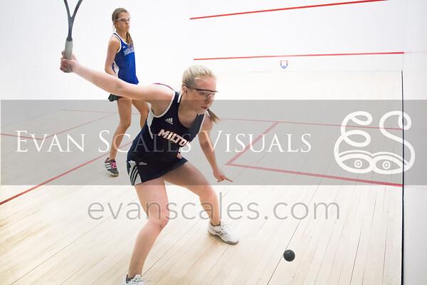 Girls' Varsity Squash | Milton vs. Dana Hall | Jan. 8, 2016