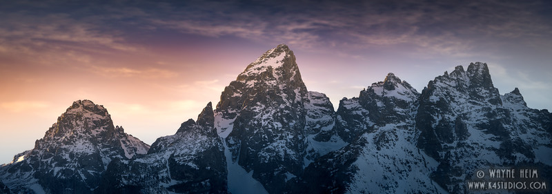 Grand Tetons     Photography by Wayne Heim