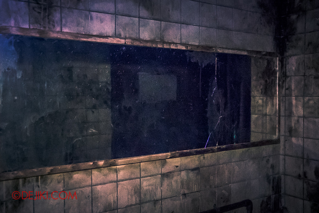 Halloween Horror Nights 6 - Old Changi Hospital / mirrors