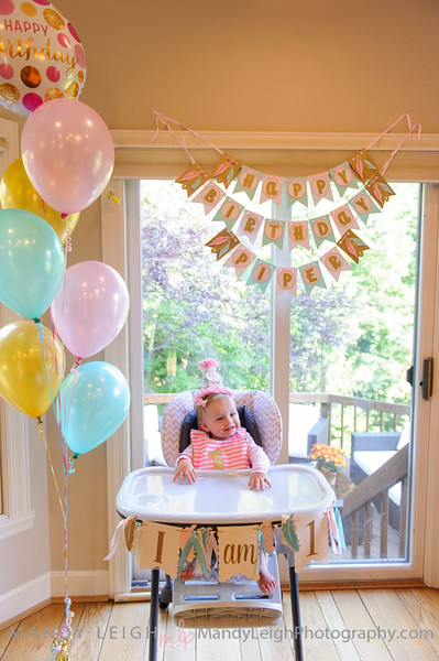 Piper's First Birthday