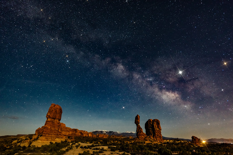Balanced Rock and Star Spikes