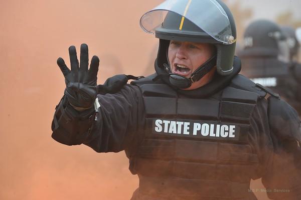 Riot Training / Deployment - Spring 2010