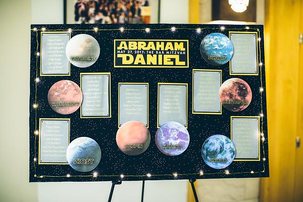 Abraham Mitzvah Decor