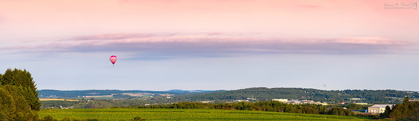 2012 Crown of Maine Balloon Festival Panoramas