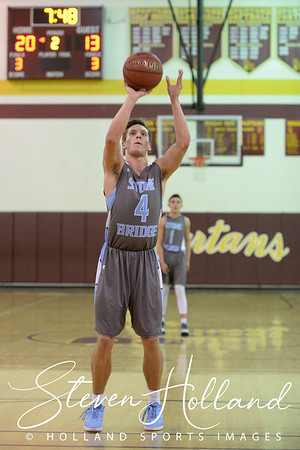 Boys Basketball - Varsity: Stone Bridge vs Broad Run 2.2.2016 (by Steven Holland)