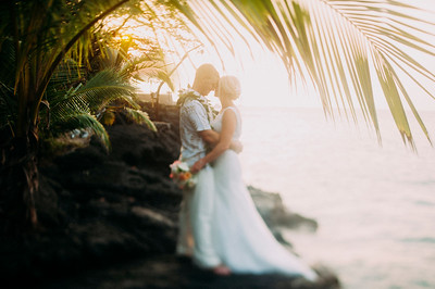 Hokukano Bayhouse Wedding / Kona Hawaii