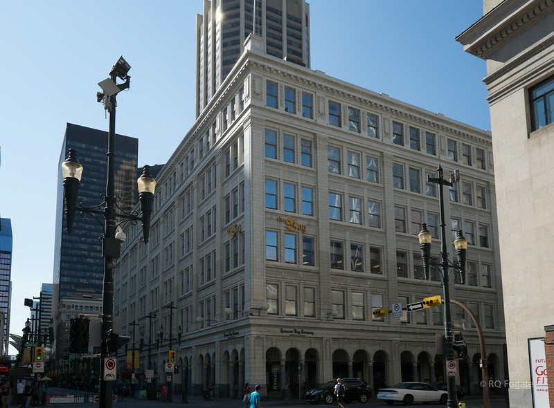 The Hudson Bay Company headquarters building.