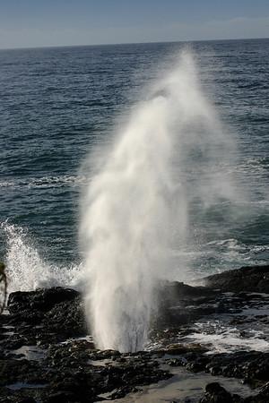 Spouting Horn, Kauai Island, Hawaii