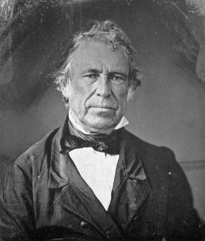 . An undated portrait-daguerreotype of Zachary Taylor, the 12th president of the United States (1849-1850).  Taylor died in office, July 9, 1850.  (AP Photo/Library of Congress)