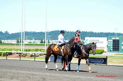 Emerald Downs WA 7-14-2013