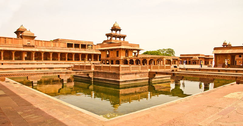 Anup Talao. Apparently Tansen used to sing here.