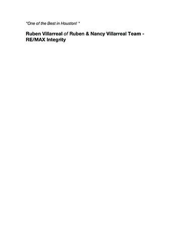 RUBEN VILLAREAL 9-20-17