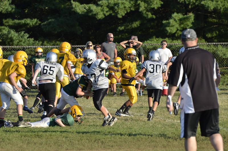 Wildcats vs Raiders Scrimmage 065.JPG