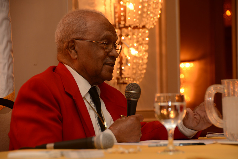 """What is Was Like"" by Documented Original Tuskegee Airmen William Fauntroy, Jr. & Edward Talbert Military Officers Association of America, Susquehanna Chapter"