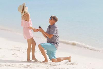 Josh & Elizabeth | Engagement | Stocking Island | Exuma Bahamas.