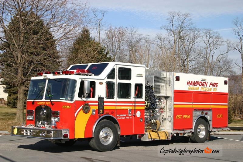 Hampden Township X-Engine 1-30: 2005 KME 2000/750 (now Squad 2-30)