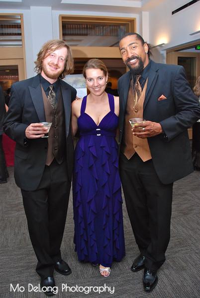 Matthew Szemela, Kelley Maulbetsch and Keith Lawrence