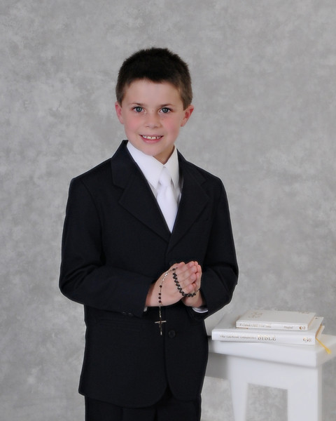 Brendan's 1st Holy Communion