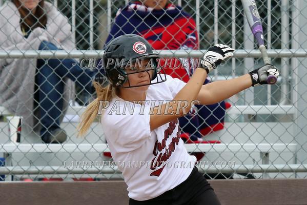 Softball vs. Cal Lutheran 4-25-15