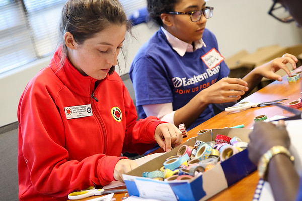 Eastern Bank Service Event 2017 - City Year Boston