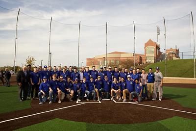 Runkle Baseball Field Dedication