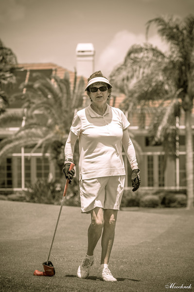 Audrey Barnfarther one of our better ladies golfer