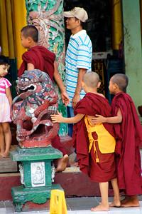 Kids, Yangon, Myanmar