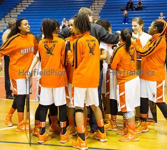 Girls Basketball Senior Night 2/13/15