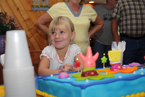 Mallori's 4th Birthday