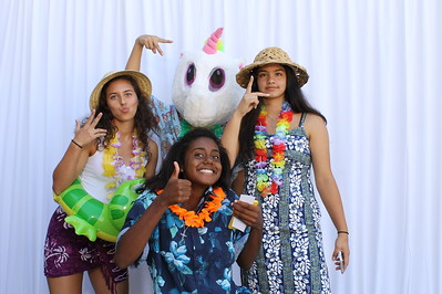 9/21/18 Mission Hills H.S. Senior Luau Photo Booth Individual Pictures