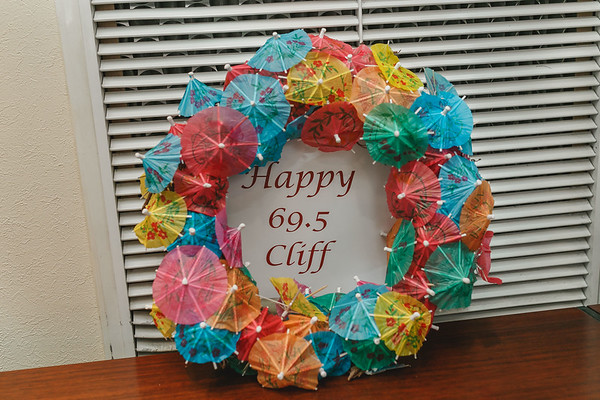 Cliff's 70th Birthday