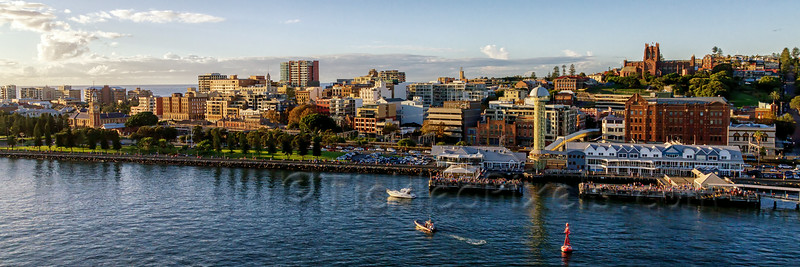 Newcastle Harbour Foreshore and CBD