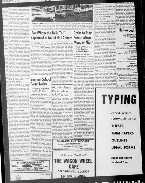 Daily Trojan, Vol. 33, No. 9, June 18, 1941