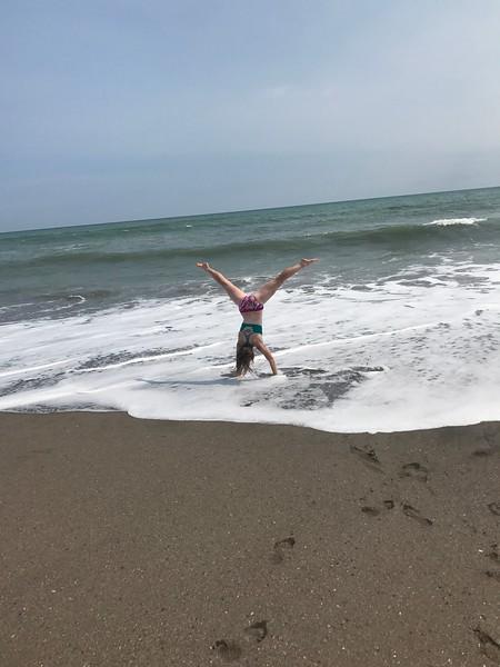 Cyrie Fry - Nicaragua - Beach