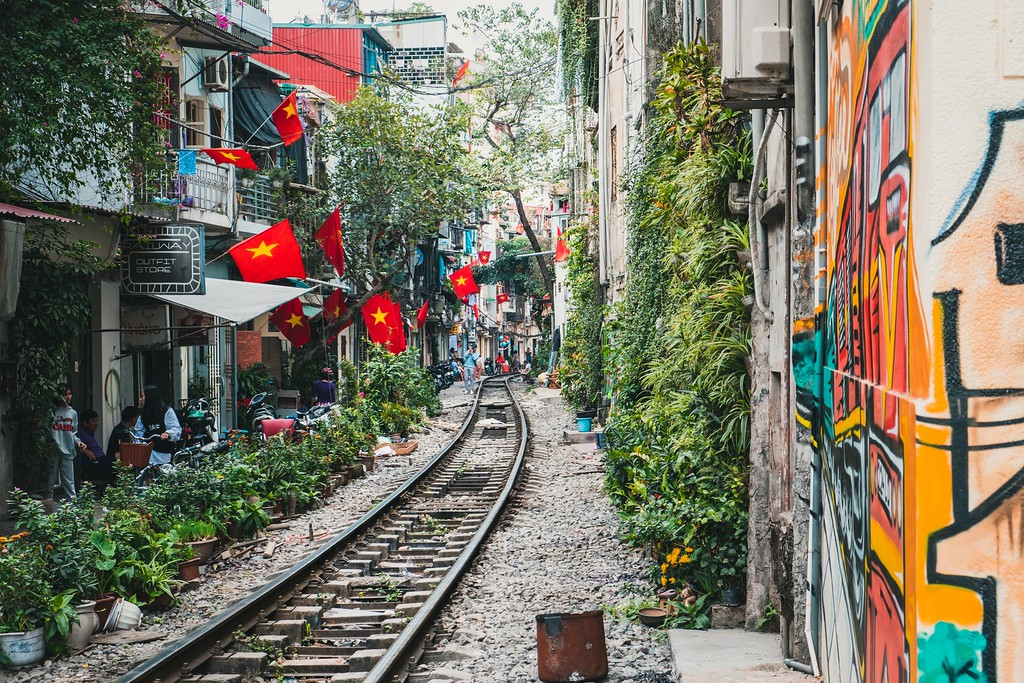 Working overseas in Vietnam
