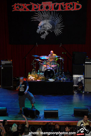 The Exploited - DI - at House of Blues - Anaheim, CA - March 11, 2007
