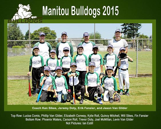 Manitou Bulldogs 2015