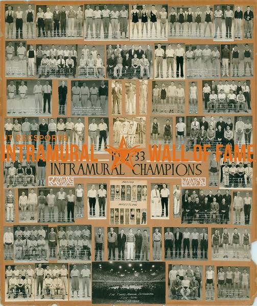 Intramural Champions 1932-33