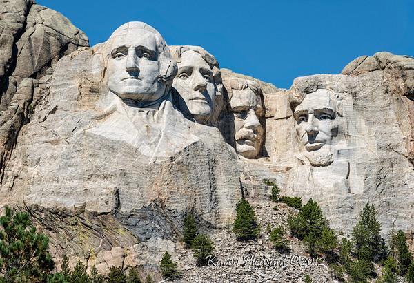 Mt Rushmore, Crazy Horse