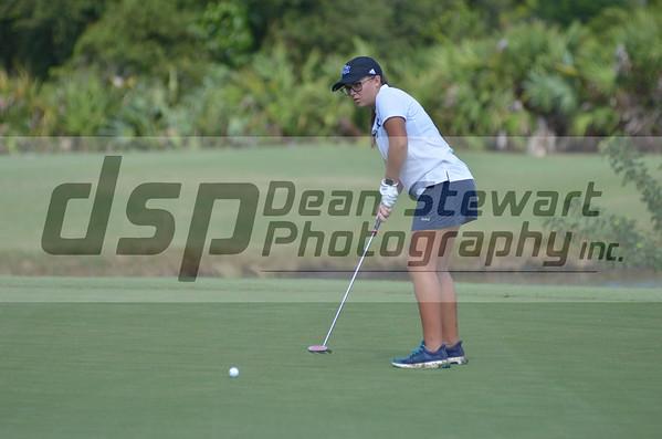 Girls Golf Districts 10-15-19