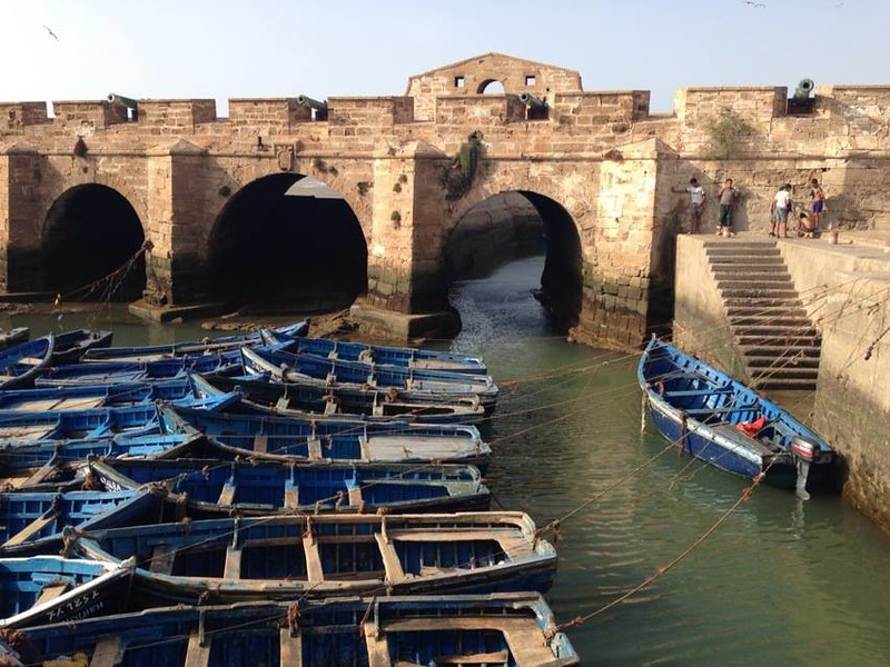 Tips for traveling in Morocco, including visiting the quaint port of Essaouira.