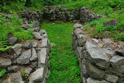 Fort Montgomery, NY Revolutionary War Fort Ruins, June 2010